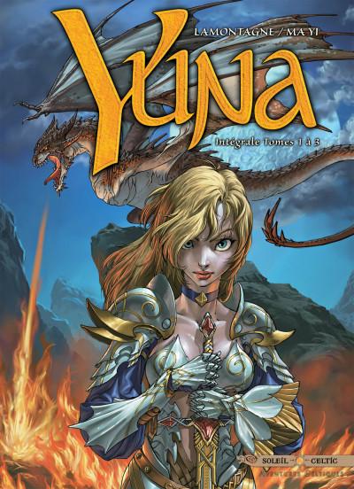 Couverture Yuna - intégrale tome 1 à tome 3