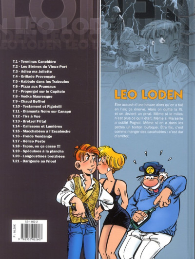 Dos Léo Loden tome 21 - barigoule au Frioul