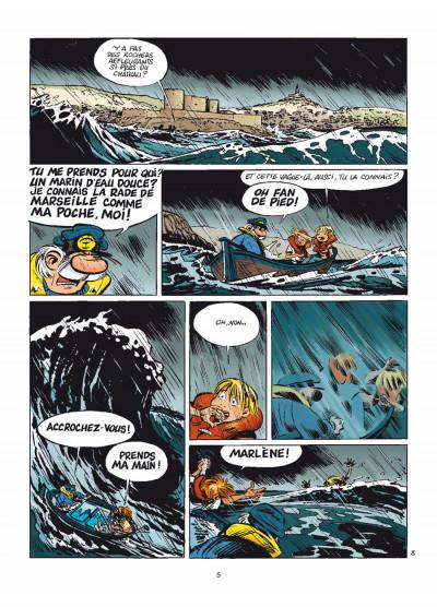 Page 3 Léo Loden tome 21 - barigoule au Frioul