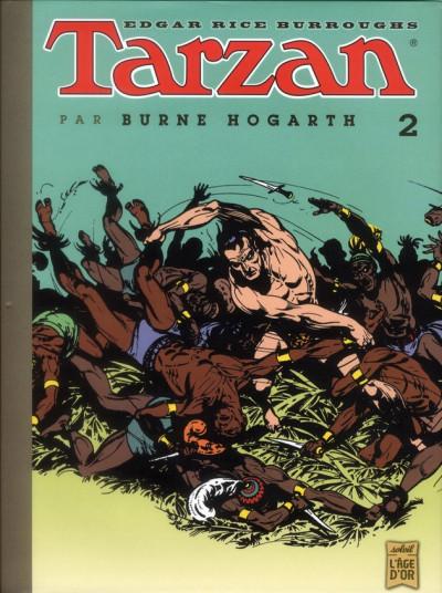 Couverture Tarzan tome 2