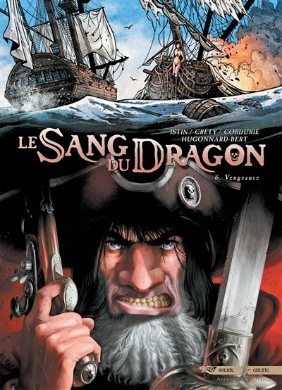 Couverture le sang du dragon - pack promo tome 1 + tome 6