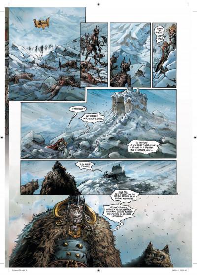 Page 3 Durandal tome 4 - la marche de Bretagne