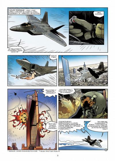 Page 1 CIA : le cycle de la peur tome 3 - la dernière minute
