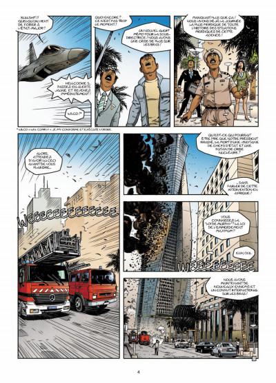 Page 2 CIA : le cycle de la peur tome 3 - la dernière minute