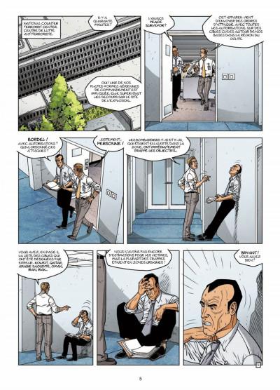 Page 3 CIA : le cycle de la peur tome 3 - la dernière minute