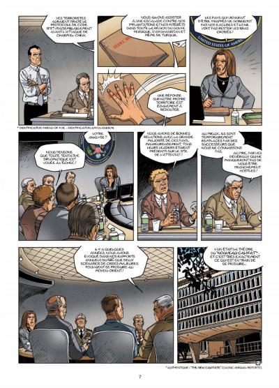 Page 5 CIA : le cycle de la peur tome 3 - la dernière minute