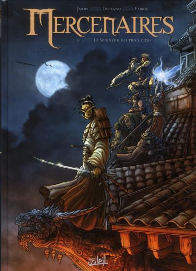 Couverture mercenaires tome 2 - le seigneur des trois cités