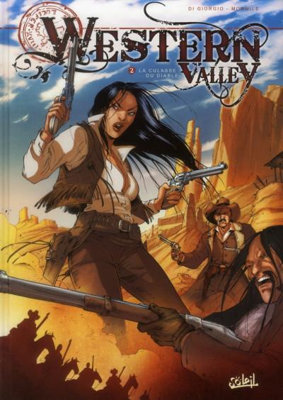 Couverture western valley tome 2 - la culasse du diable