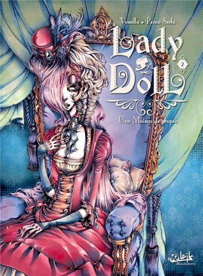 Couverture Lady Doll tome 2 - une maison de poupée