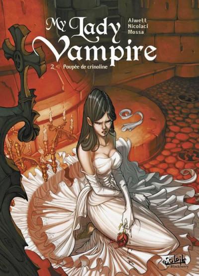 Couverture my lady vampire tome 2 - poupée de crinoline