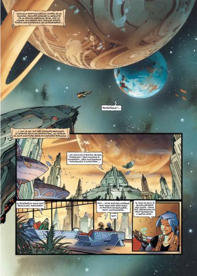 Page 1 les naufragés d'Ythaq tome 10 - Nehorf-Capitol Transit
