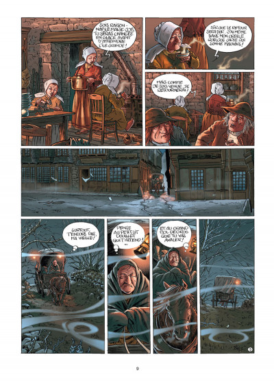 Page 5 histoires de Bretagne tome 6 - la légende de la mort - partie 1