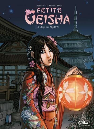 Couverture petite geisha tome 1 - l'Okiya des mystères