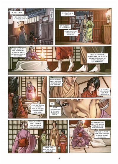 Page 2 petite geisha tome 1 - l'Okiya des mystères