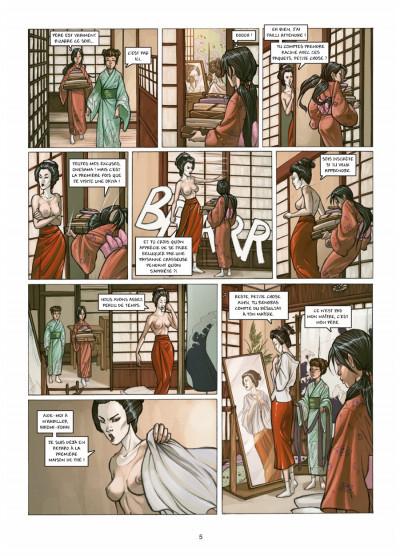 Page 3 petite geisha tome 1 - l'Okiya des mystères