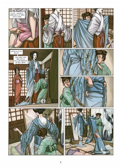 Page 4 petite geisha tome 1 - l'Okiya des mystères