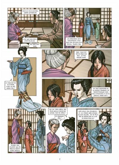 Page 5 petite geisha tome 1 - l'Okiya des mystères