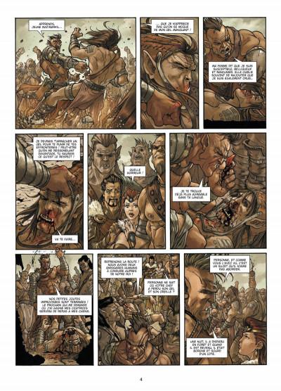 Page 2 La guerre des orcs tome 2