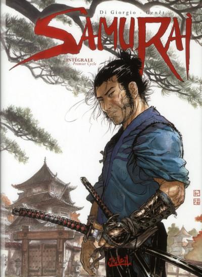Couverture samurai - INTEGRALE VOL.1 - T.1 A T.4 - premier cycle