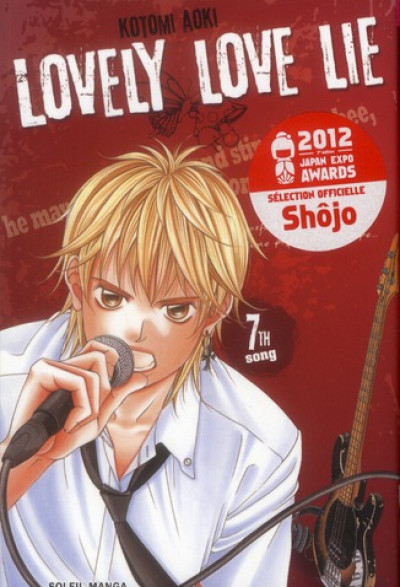 Couverture lovely love lie tome 7