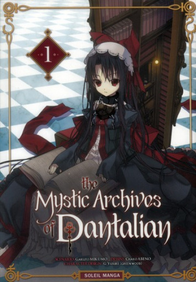 Couverture the mystic archives of Dantalian tome 1