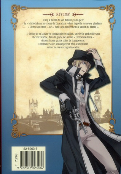 Dos the mystic archives of Dantalian tome 1
