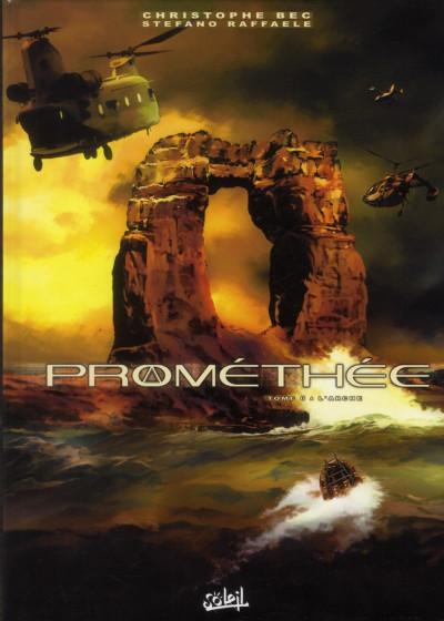 Couverture prométhée tome 6 - l'arche