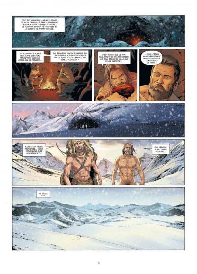 Page 2 prométhée tome 6 - l'arche