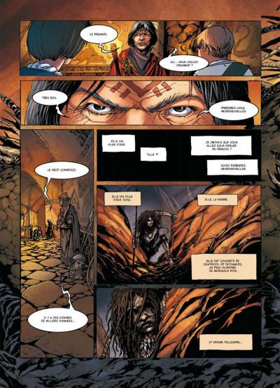 Page 2 la geste des chevaliers dragons tome 14 - La Première