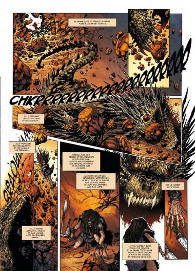Page 5 la geste des chevaliers dragons tome 14 - La Première