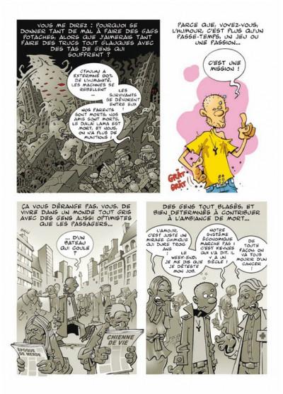 Page 2 chienne de vie tome 1 - l'humour est mon métier