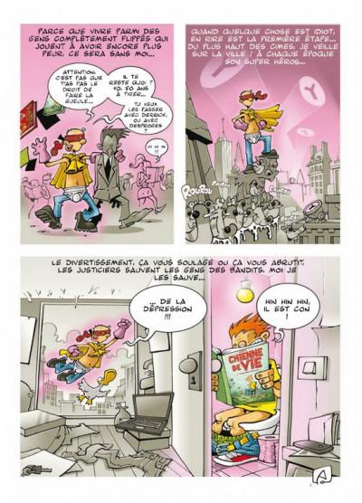 Page 5 chienne de vie tome 1 - l'humour est mon métier