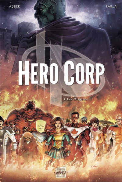 Couverture hero corp tome 1 - les origines