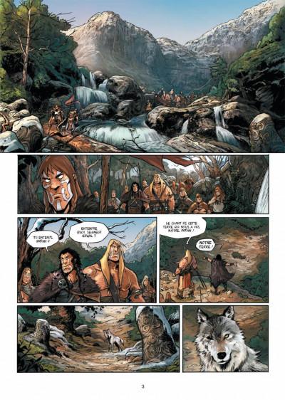 Page 1 Elya, les brumes d'Asceltis tome 1 - naissance
