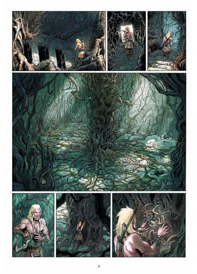 Page 4 Elya, les brumes d'Asceltis tome 1 - naissance