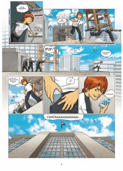 Page 2 illimité tome 1 - connexion