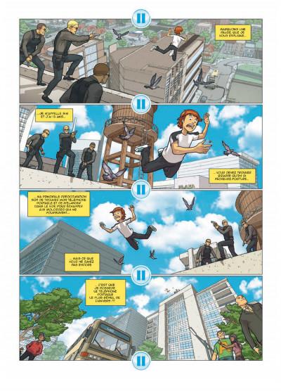 Page 3 illimité tome 1 - connexion