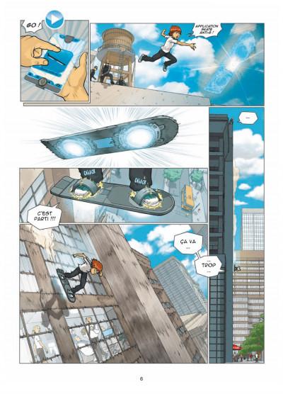 Page 4 illimité tome 1 - connexion