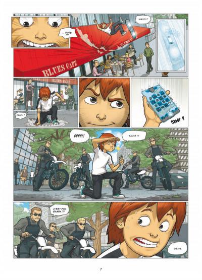 Page 5 illimité tome 1 - connexion