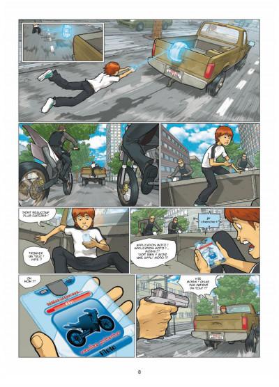 Page 6 illimité tome 1 - connexion