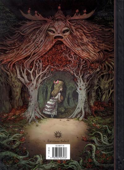 Dos dans la forêt