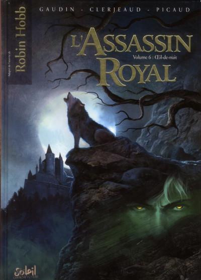 Couverture L'assassin royal tome 6