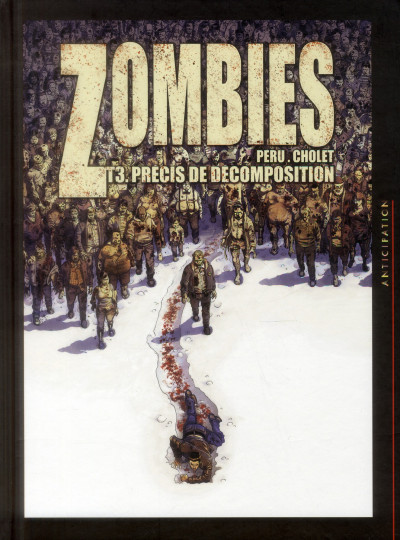 Couverture Zombies tome 3