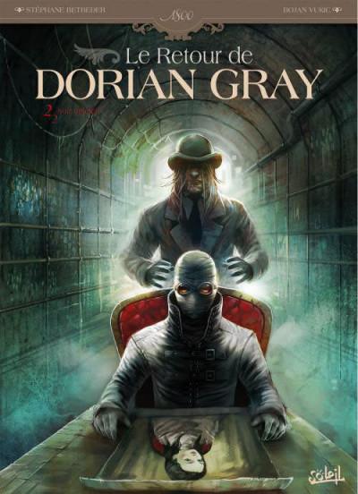 Couverture le retour de Dorian Gray tome 2 - noir animal