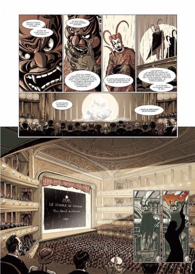 Page 1 le retour de Dorian Gray tome 2 - noir animal