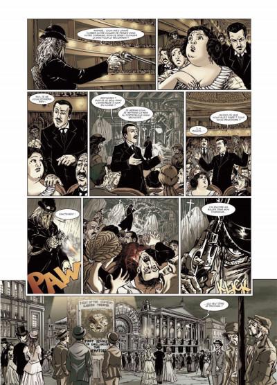 Page 3 le retour de Dorian Gray tome 2 - noir animal