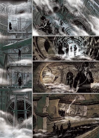 Page 6 le retour de Dorian Gray tome 2 - noir animal