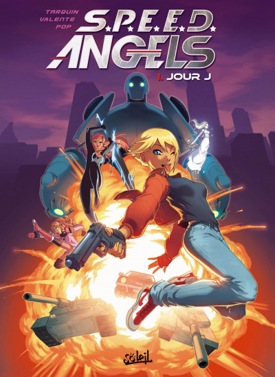 Couverture SPEED angel's tome 1 - jour J