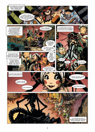 Page 4 Elyne tome 1 - le bestiaire des filles