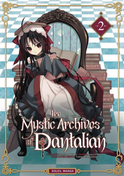 Couverture the mystic archives of Dantalian tome 2